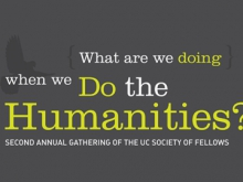 What Are We Doing When We Do The Humanities?
