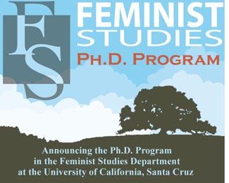 Feminist Studies Ph.D. Program Poster