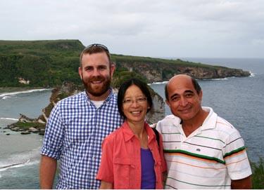 Matt Wagers and Sandra Chung