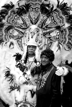 Chief David Montana and Mother Mardi Gras Day Treme 2007-250