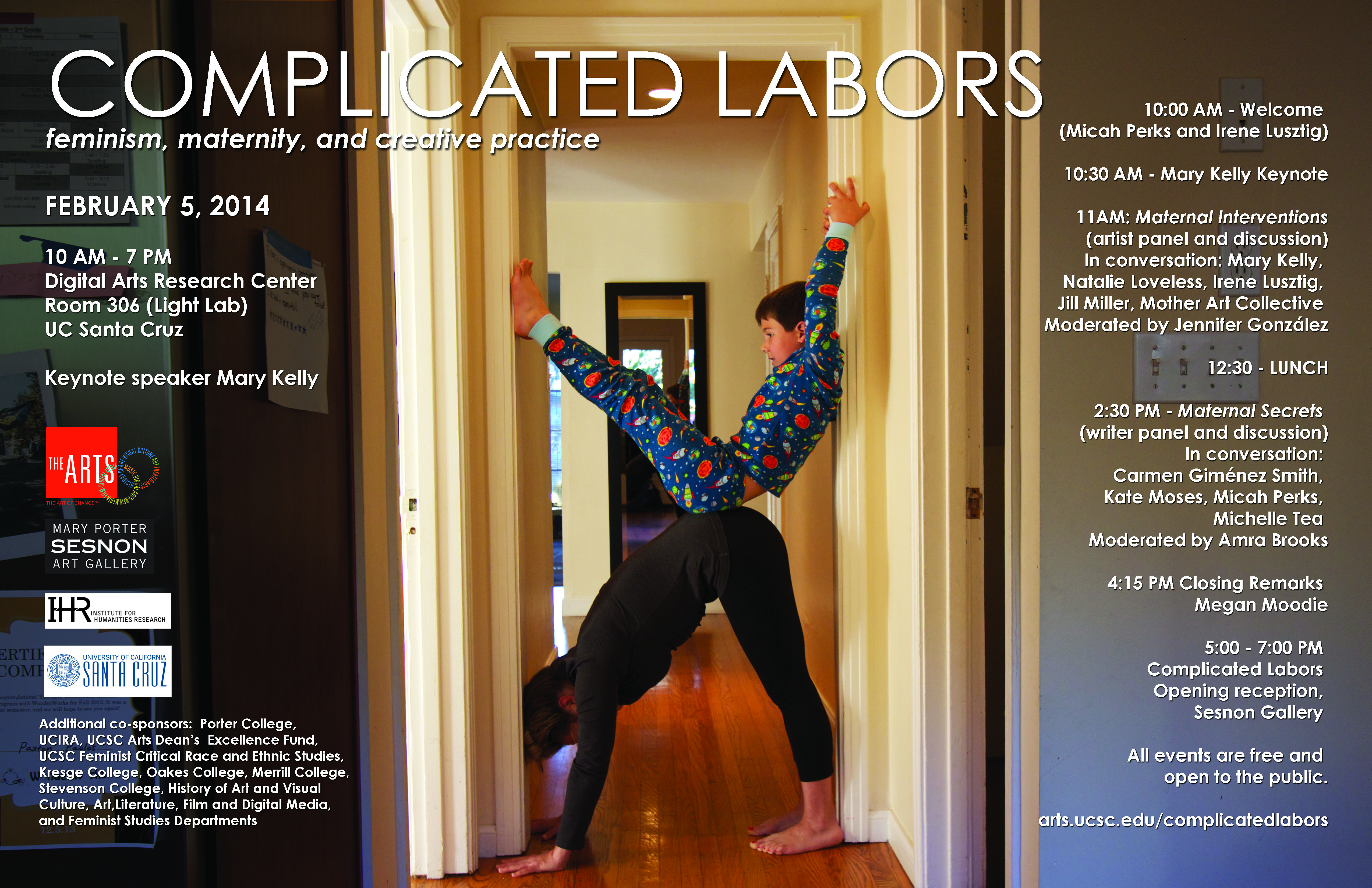 Poster Complicated Labors 2.5.14