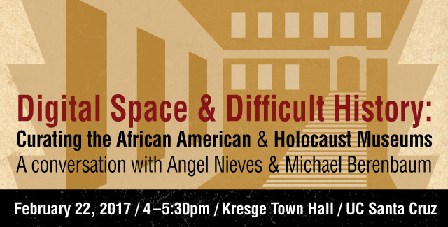Digital Space & Difficult History event