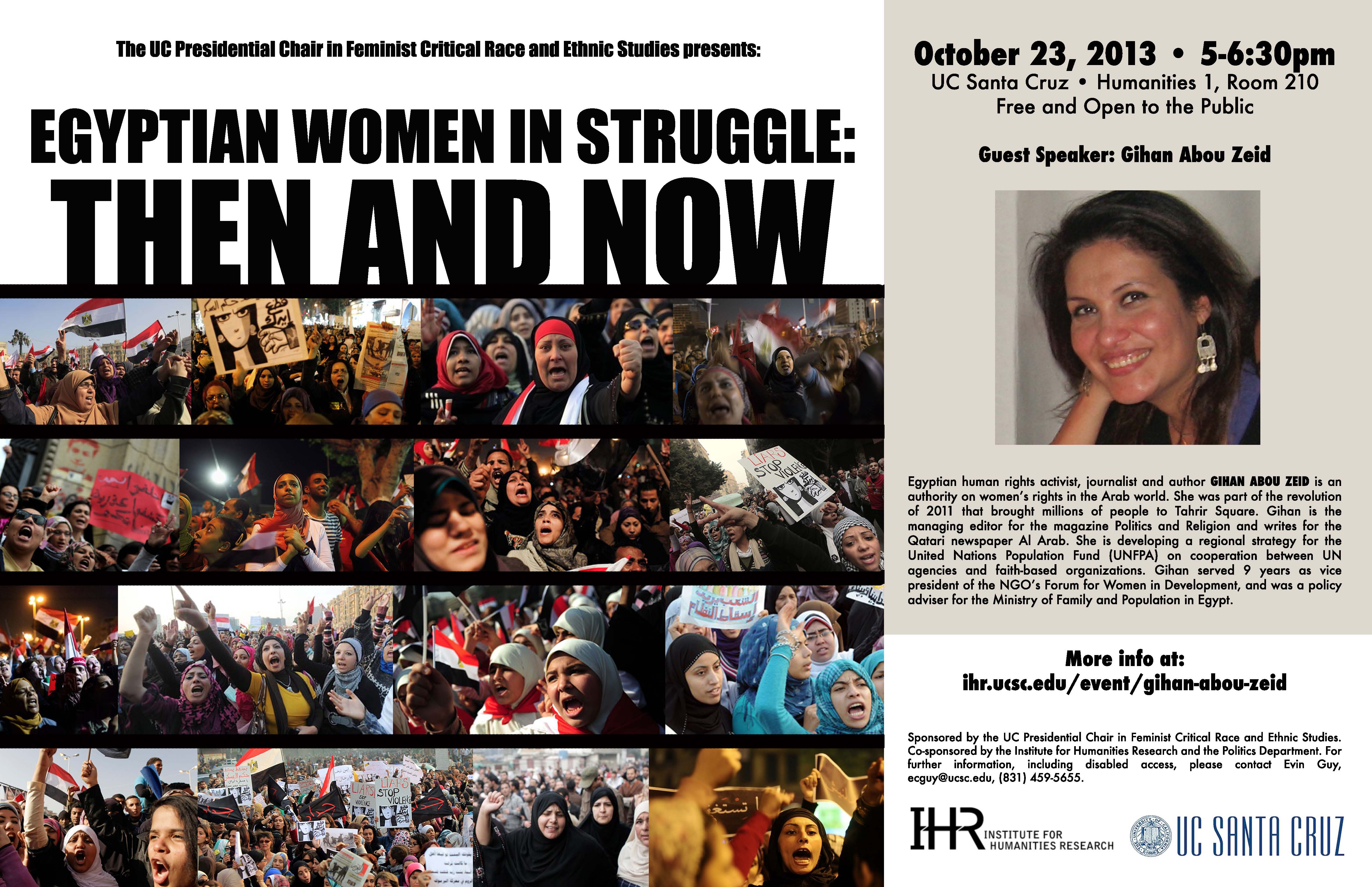 Egyptian Women in Struggle: Then and Now