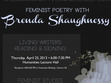 Brenda Shaughnessy: Feminism & Poetry