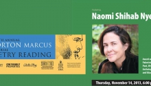 Naomi Shihab Nye to read at Morton Marcus memorial event