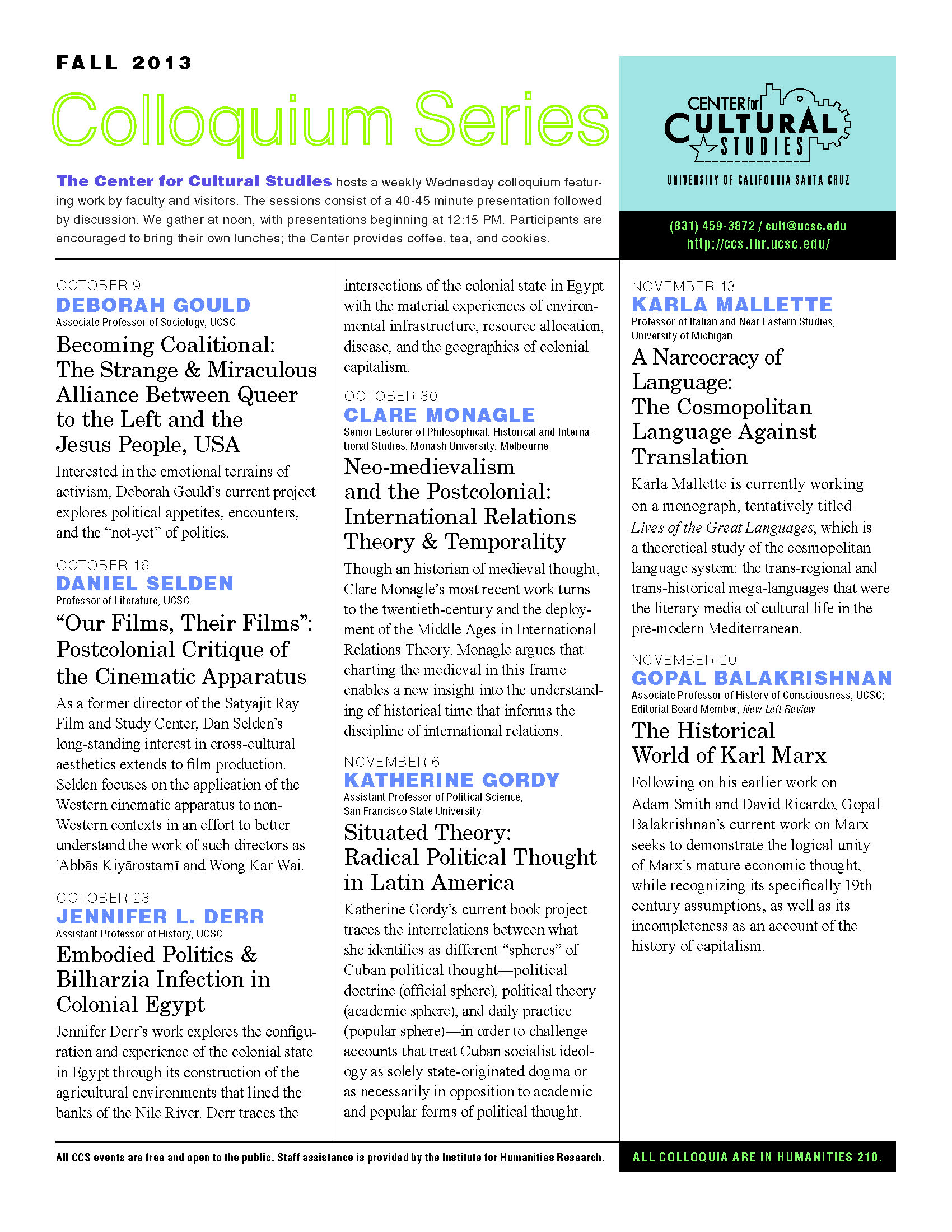 CCS_Newsletter_Fall2013_Page_1