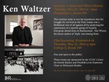Ken Waltzer Seminar: A Holocaust Micro-History