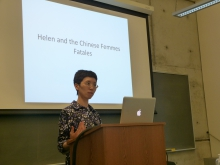 "Yiqun Zhou: ""Helen and the Chinese Femmes Fatales"""