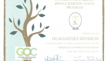 Humanities @ UCSC Goes Green