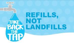 take back the tap sticker