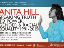 Anita Hill: Speaking Truth to Power: Gender & Racial Equality 1991-2015
