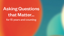 IHR Asking Questions that Matter…for 15 years and counting