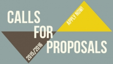 UCHRI Call for Proposals 2015-2016