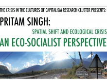 "Pritam Singh: ""Spatial Shift and Ecological Crisis"""