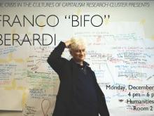 """Franco """"Bifo"""" Berardi: """"Social Morphogenesis"""""""