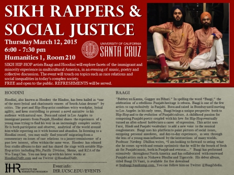 Sikh Rappers & Social Justice