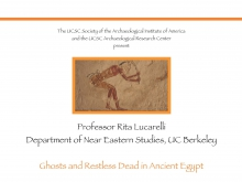 "Rita Lucarelli: ""Ghosts and the Restless Dead in Ancient Egypt"""