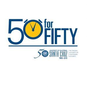 50for50 logo