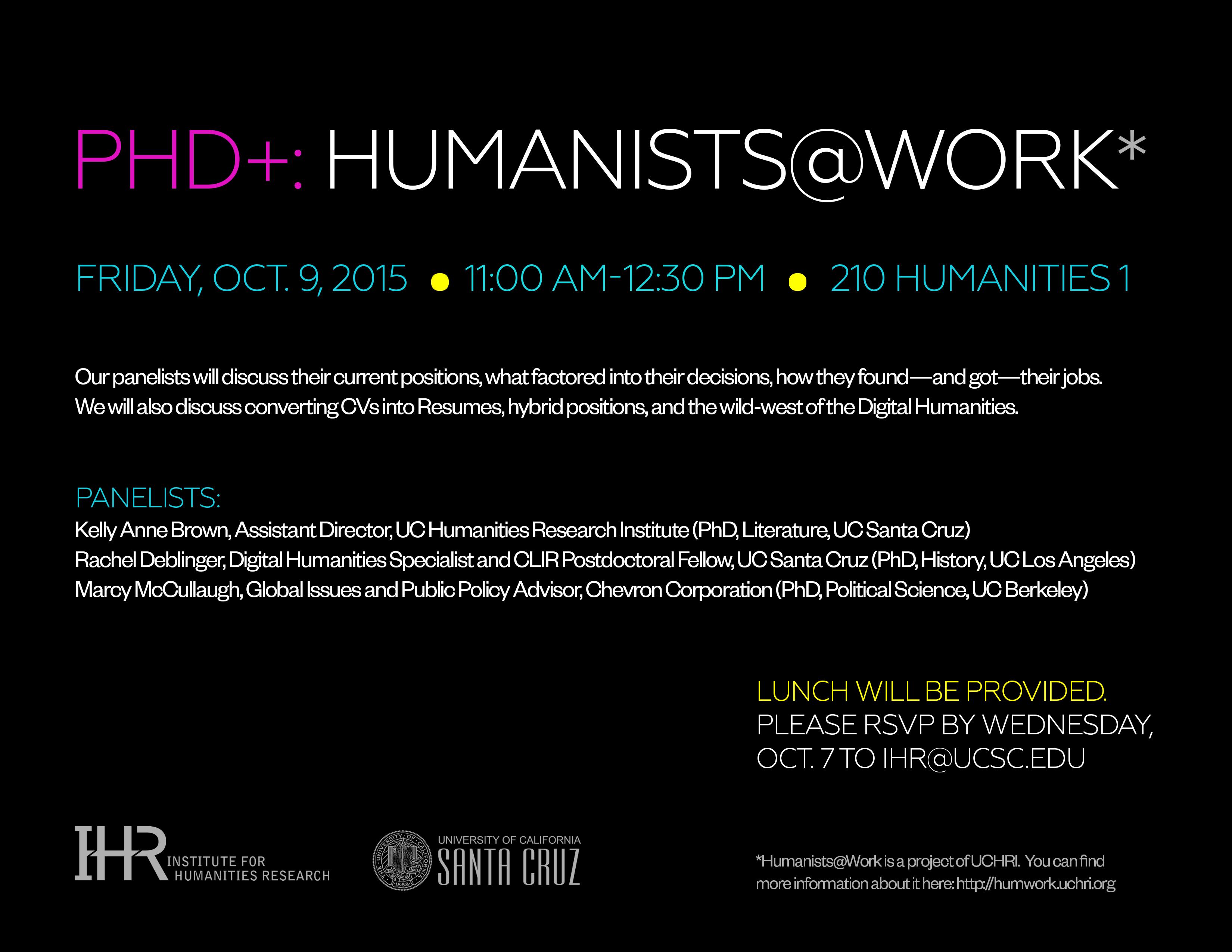 Humanists@Work