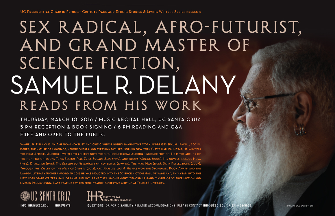 Samuel Delany event poster