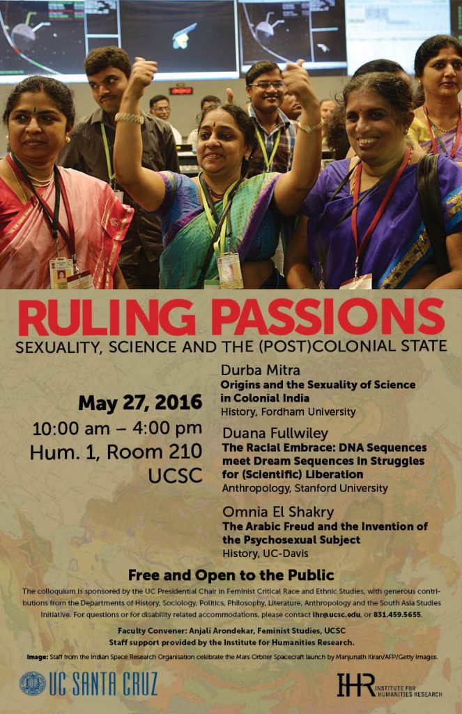 ruling passions event poster