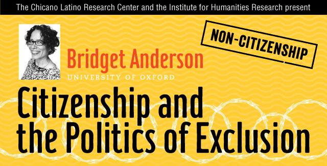 Bridget Anderson event web banner