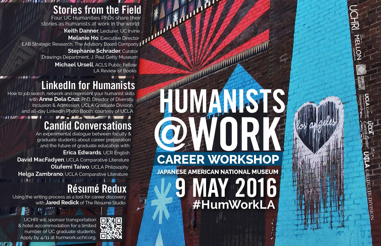 Humanisits@Work Career Workshop
