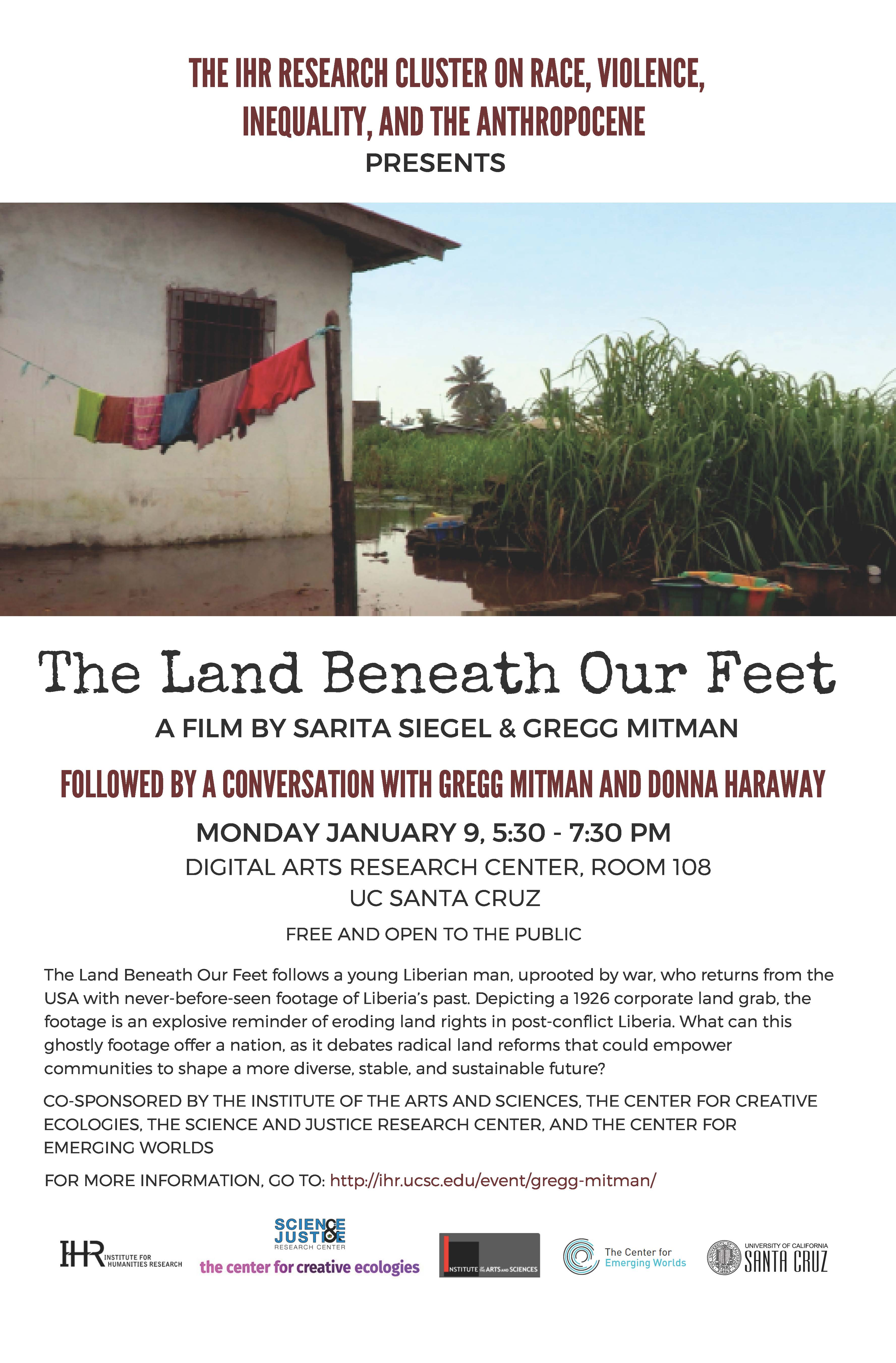 Land Beneath Our Feet film screening poster