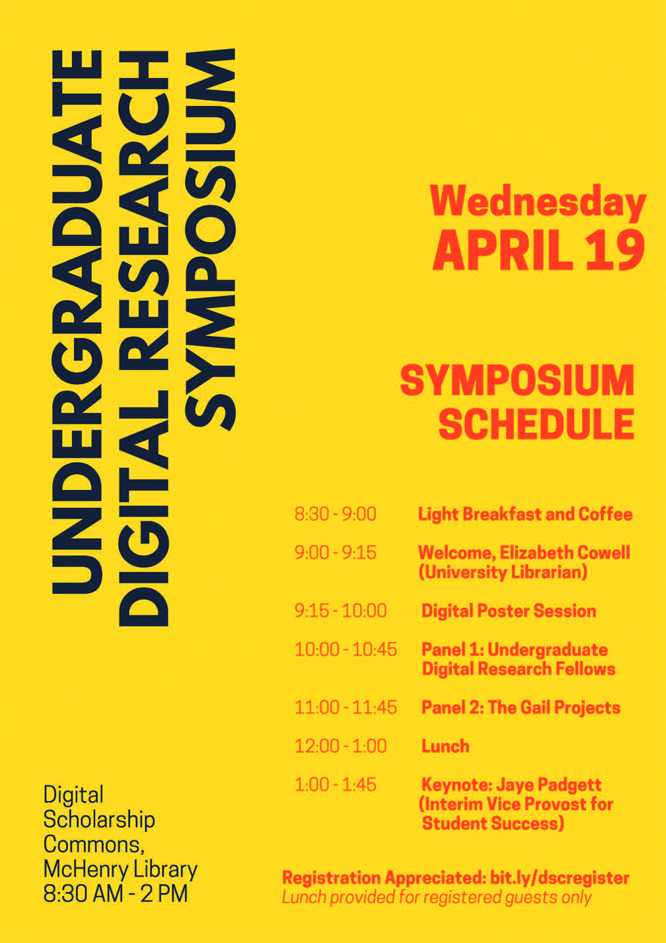 Undergraduate digital research symposium