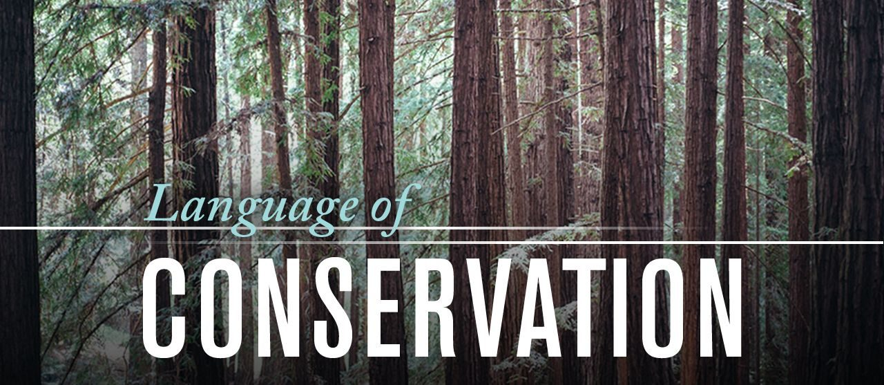 Language of Conservation banner