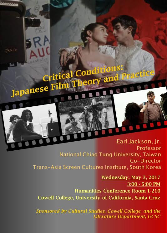Earl Jackson: Critical Conditions: Japanese Film Theory & Practice