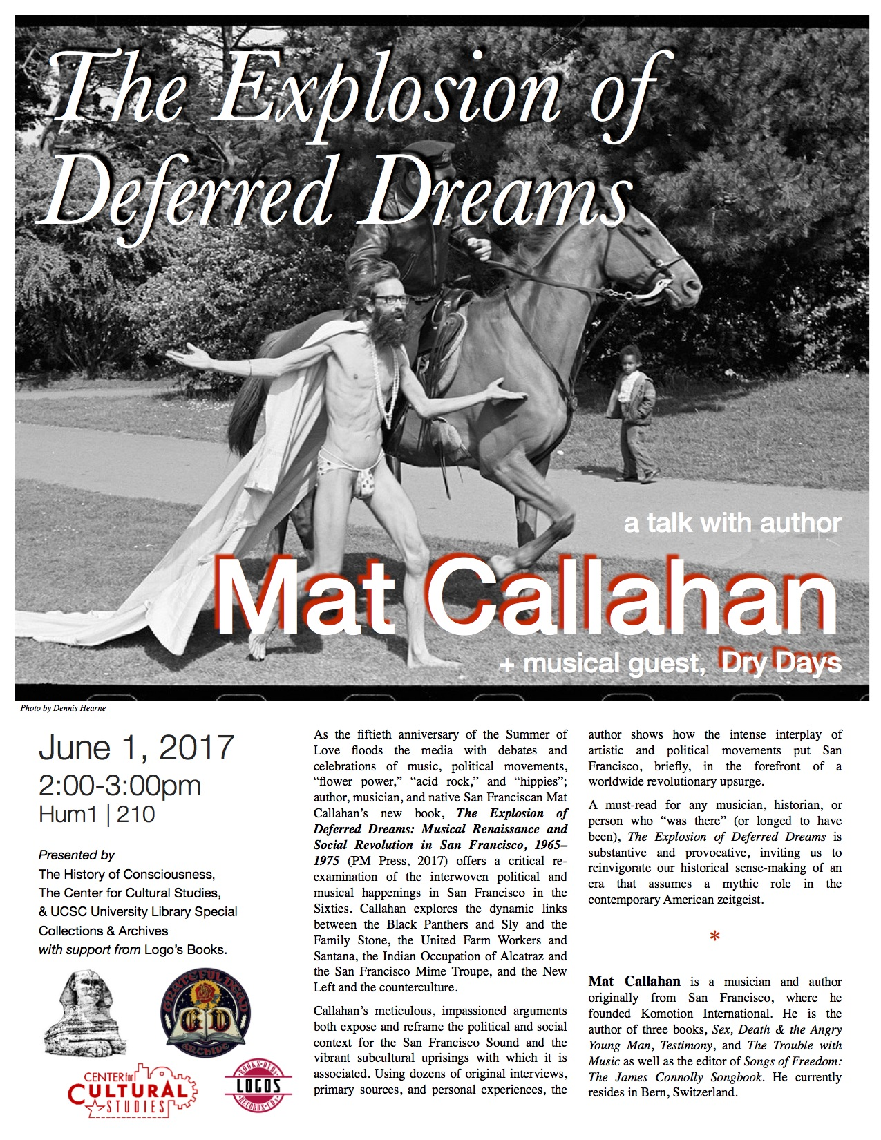 """Mat Callahan, """"The Explosion of Deferred Dreams"""" - The"""