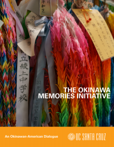 Okinawa Memories Initiative Brochure