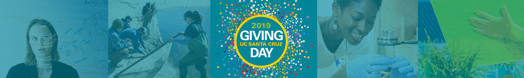Giving day 2019 banner